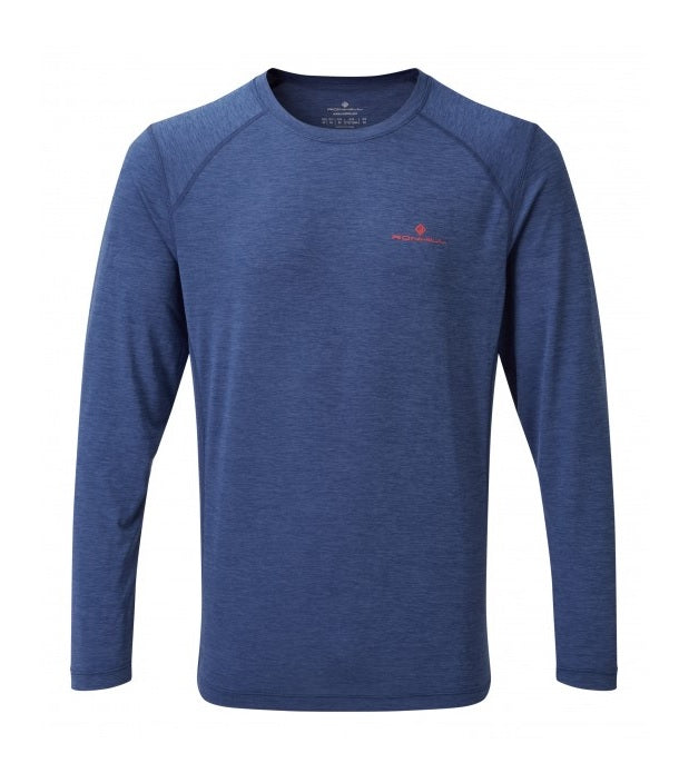 Ronhill Men's Momentum Long Sleeve - Midnight Blue