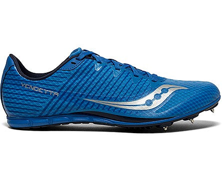 Saucony Mens Vendetta 2 - Royal/Silver