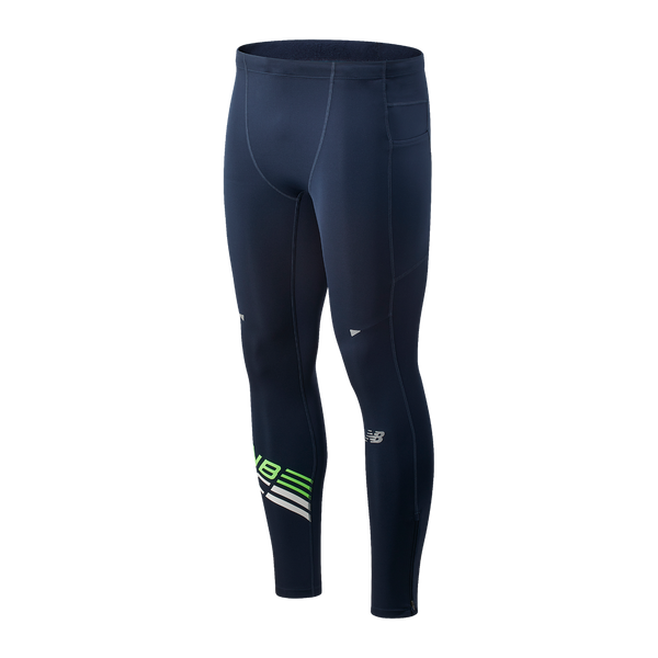 New Balance M Impact Run Tights - Energise Lime