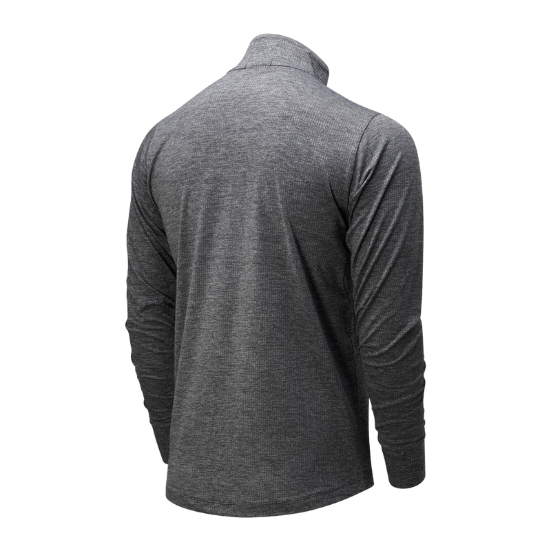 New Balance W Transform 1/2 Zip - Black Heather