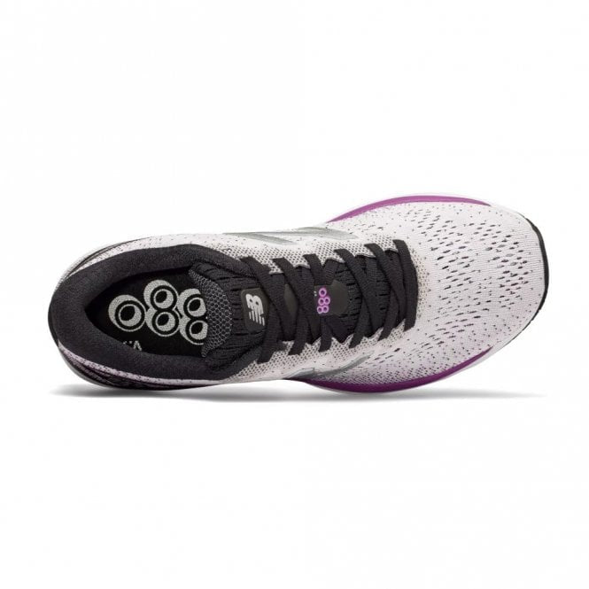 New Balance Womens 880V9 Wide - White/Purple