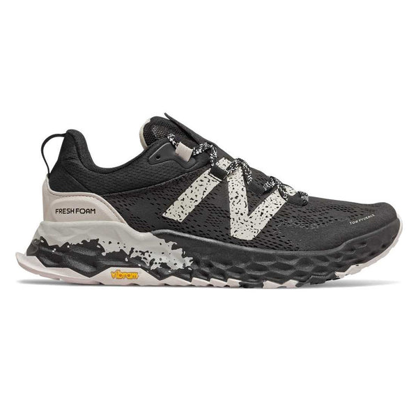 New Balance Men's Fresh Foam Hierro v5 2E width- Black Moonbeam