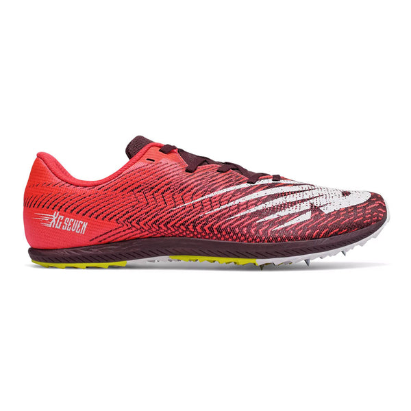 New Balance Mens XC7 Spikes - Energy Red Henna