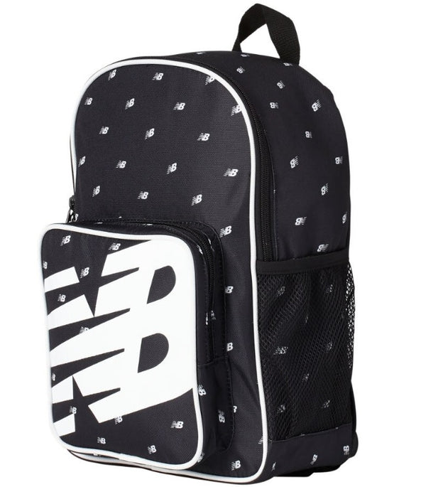 New Balance Printed Sporty Backpack - Black