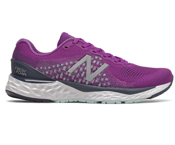 New Balance W 880v10 Wide - Plum Natural Indigo
