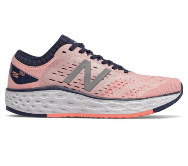 New Balance W Vongo V4 - Peach Soda with Natural Indigo