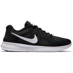 Nike Womens Free Run - Black/White Grey
