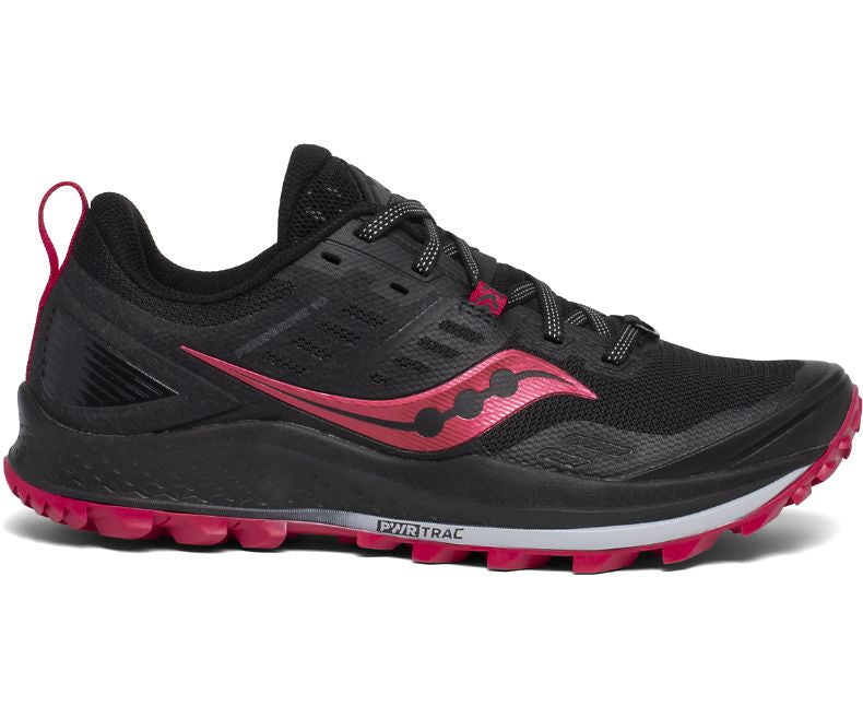 Saucony W Peregrine 10 - Black/Barberry