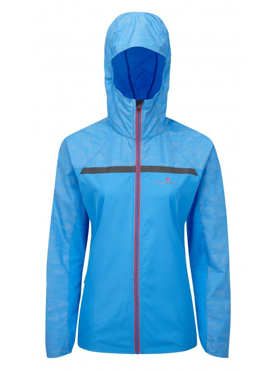 RonHill W Momentum Afterlight Jacket - Blue/ Cherryade