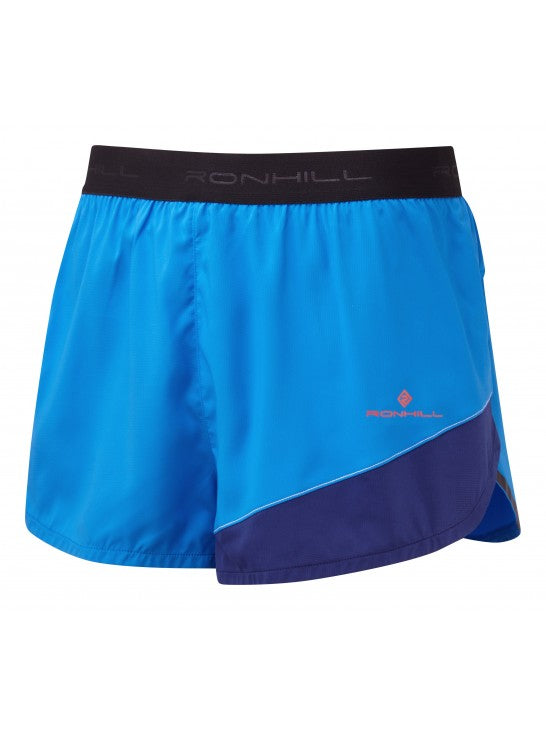 "RonHill M Stride Revive 5"" Shorts - Elec Blue/Mid Blue"