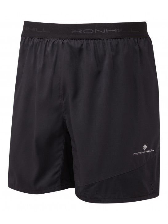 RonHill M Stride Revive 5'' Shorts - All Black