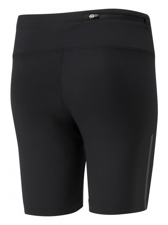 RonHill W Stride Stretch Shorts - All Black