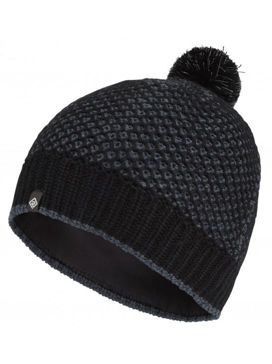 RonHill Bobble Hat - Black/Charcoal