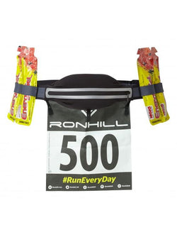 Ronhill Marathon Belt - Charcoal/Black
