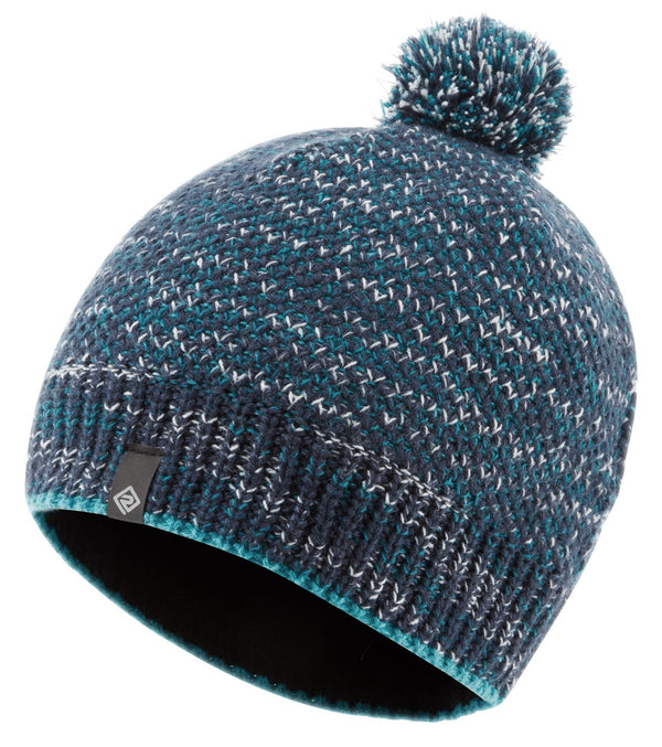 RonHill Bobble Hat - Deep Navy/Spa Green