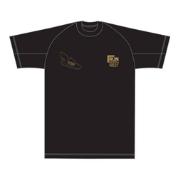 Trafford 10K T-Shirt 2019 - Black/Gold