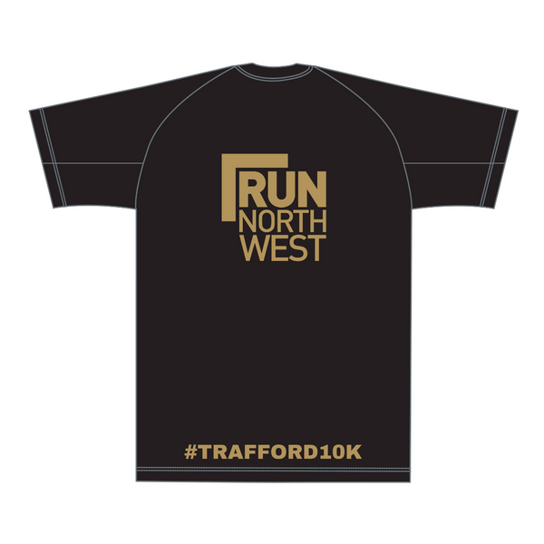Run North West Trafford 10k T-Shirt 2019 - Black