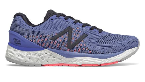 New Balance W 880V10 - Magnetic Blue with Guava