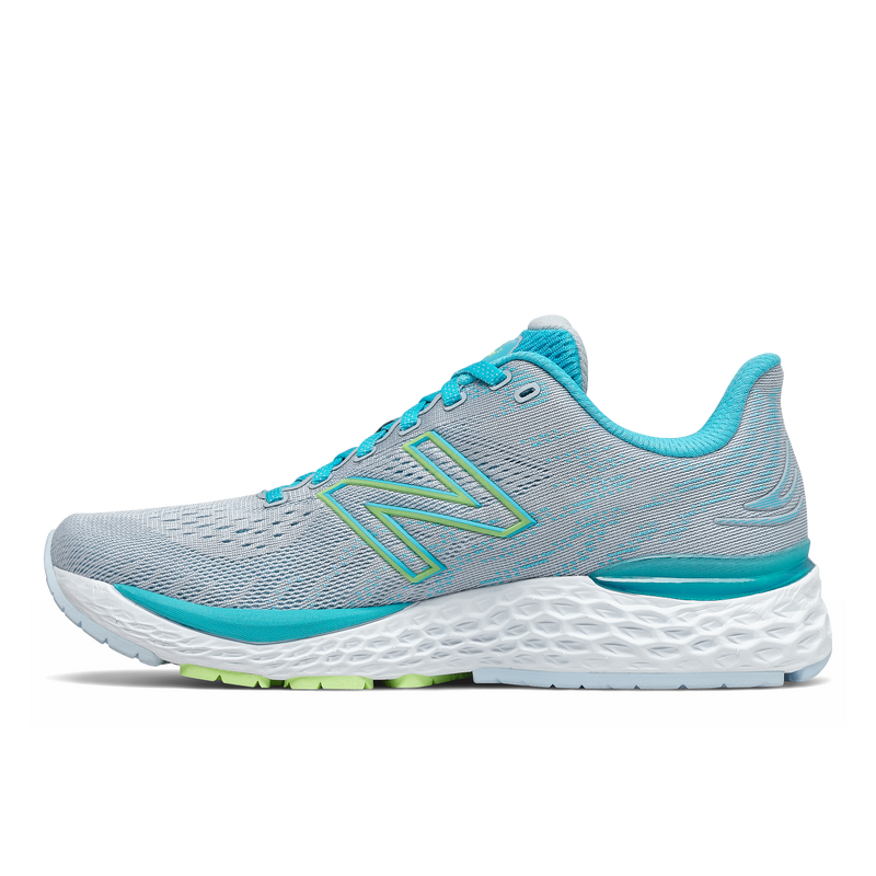 New Balance W 880V11 - Virtual Sky/Bleached Lime Glo