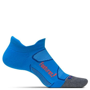 Feetures Elite Max Cushion No Show - Blue Lava