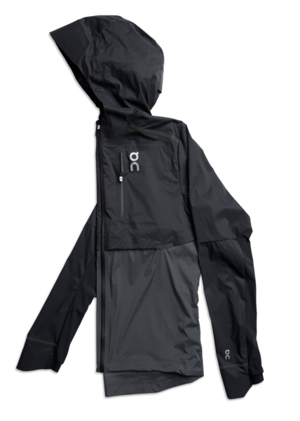 ON M Weather Jacket - Black/ Shadow