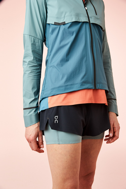 On Running W Weather Jacket - Sea/Storm
