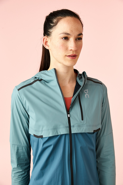 ON W Weather Jacket - Sea/Storm