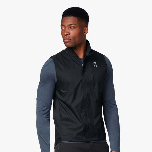 On Mens Weather Vest - Black