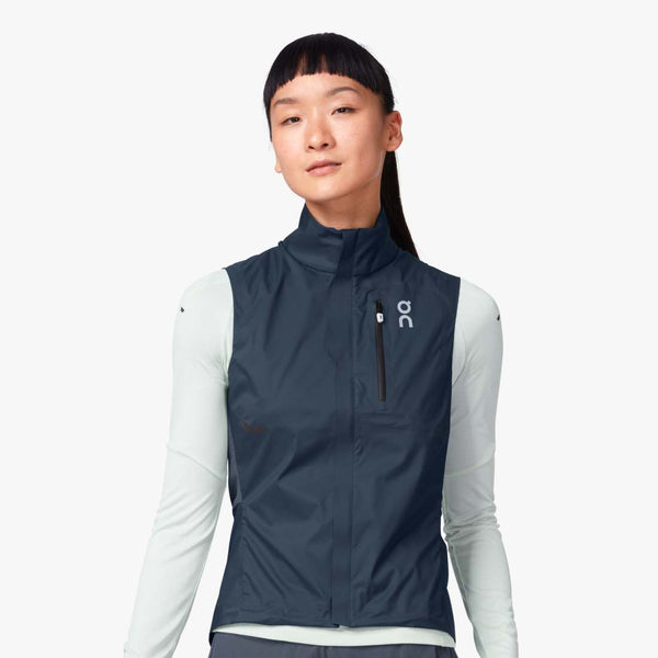 ON W Weather Vest - Navy/Shadow