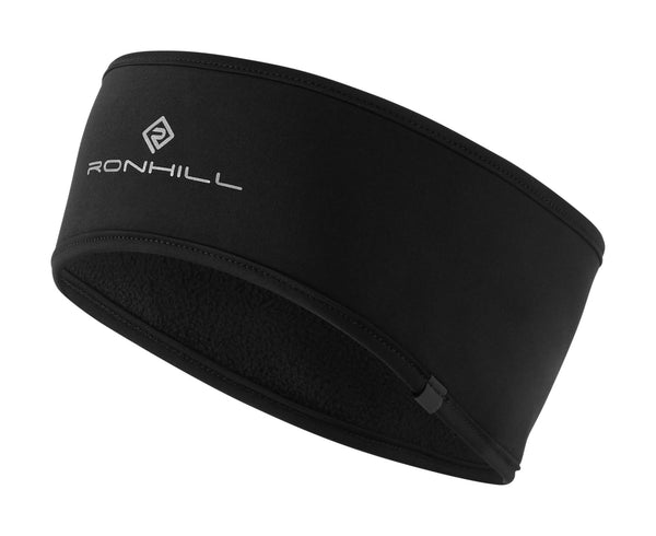 RonHill Wind-Block Headband - Black
