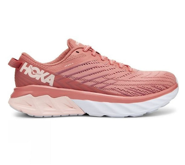 Hoka W Arahi 4 - Lantana/ Heather Rose