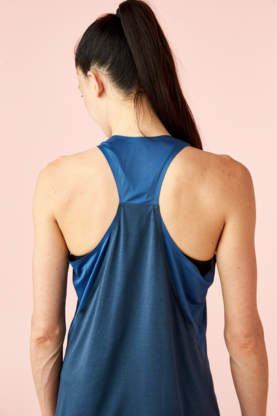 ON W Tank - Denim/Navy