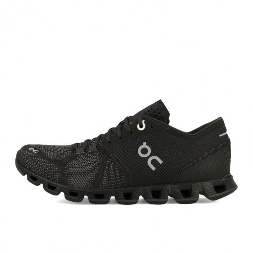 On M Cloud X - Black/Asphalt