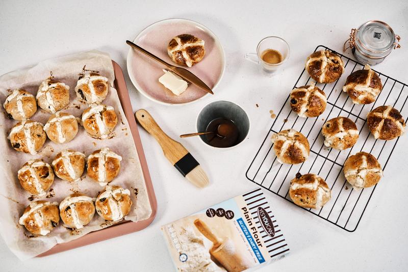 Spiced Hot Cross Buns Recipe - Easter Edition