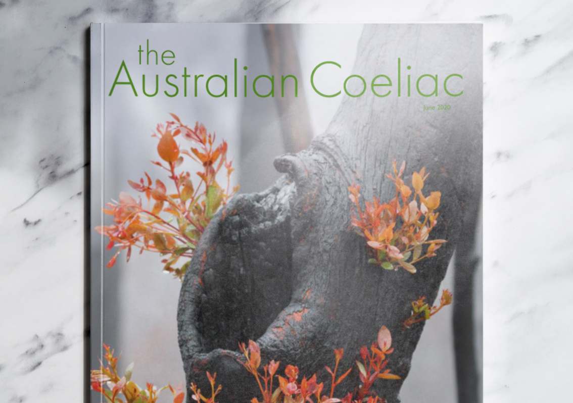 YesYouCan in The Australian Coeliac Magazine and the effects of COVID-19