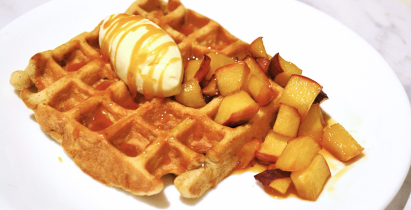 Apple Cinnamon Waffles Recipe