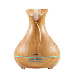 400ml 4 in 1 Aroma Diffuser-Remote control-Wood-FREE SHIPPING