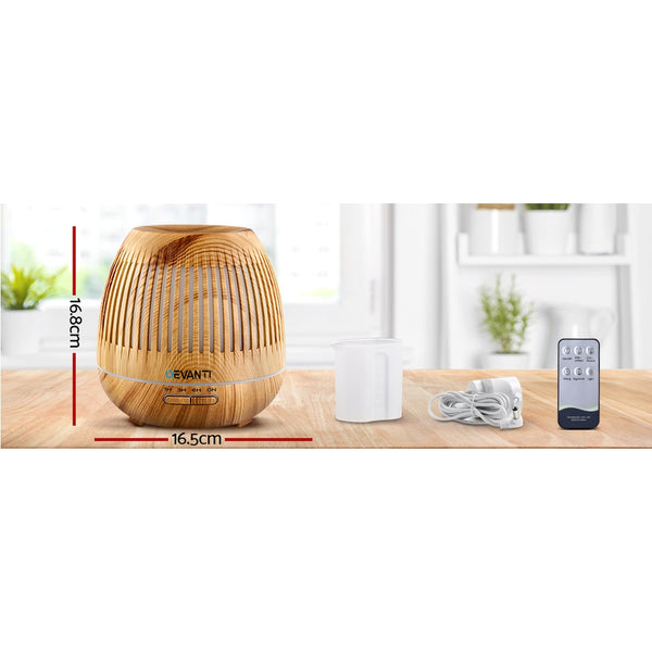 Aromatherapy Diffuser-Essential Oils Air Humidifie-LED-400ml-FREE SHIPPING