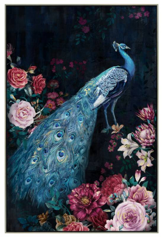 Peacock Canvas