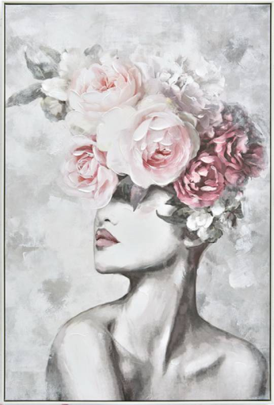 Flower Lady Canvas