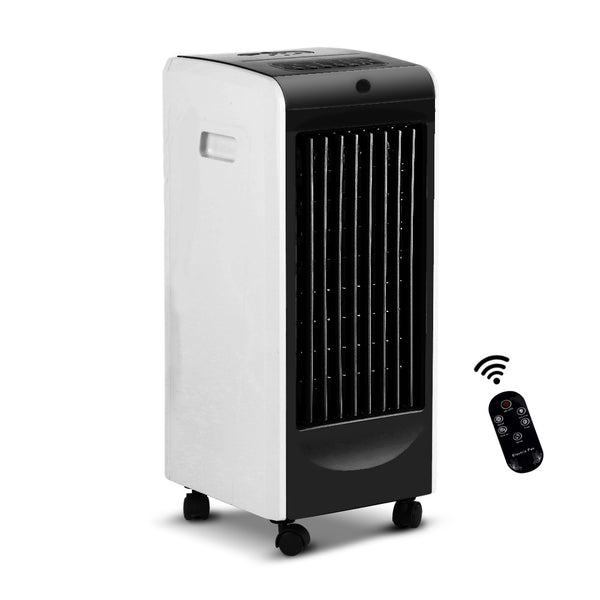 Devanti Portable Evaporative Air Cooler-Black-FREE SHIPPING