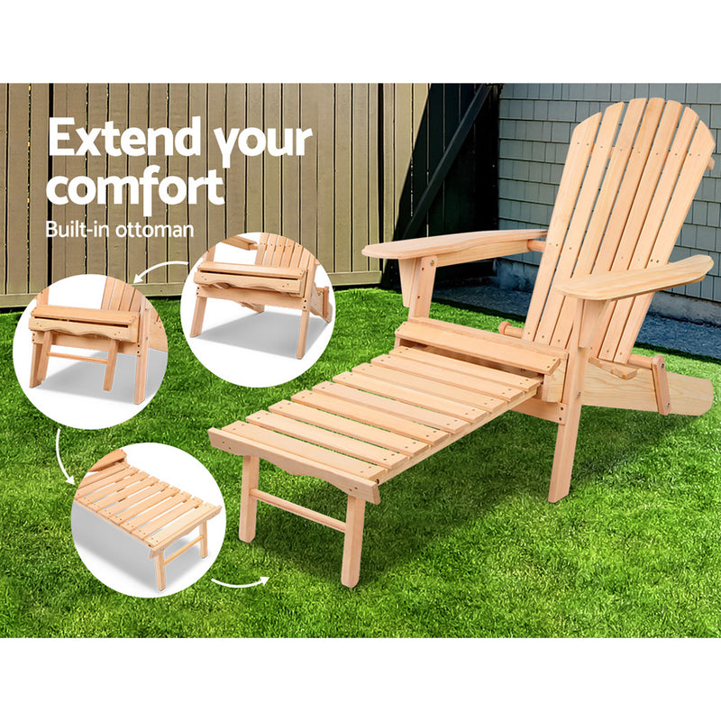 2 Piece Outdoor Sun Lounger Chair Set-FREE SHIPPING