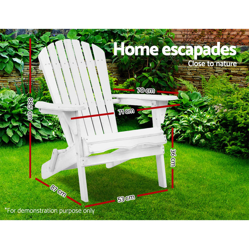 Timber Outdoor Adirondack Chair-FREE SHIPPING