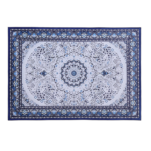 Artiss Floor Rugs Rug 200 x 290 Area Large Modern Carpet Soft Blue Living Room