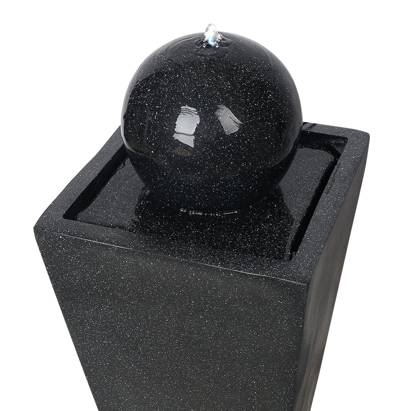 82CM HIGH-Solar Powered Water Fountain-Black-FREE SHIPPING