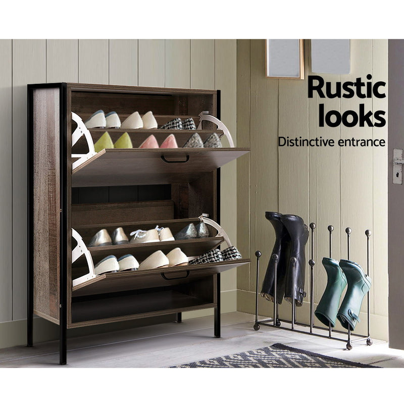 85cm Shoe Rack Storage-Up to 12 Pairs of Shoes-FREE SHIPPING