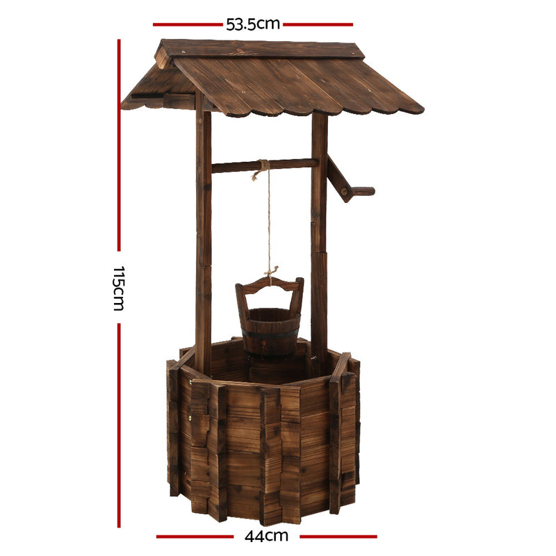 115cm High Outdoor Wishing Well Garden Ornament-FREE SHIPPING