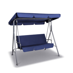 Gardeon Canopy Swing Chair - Navy
