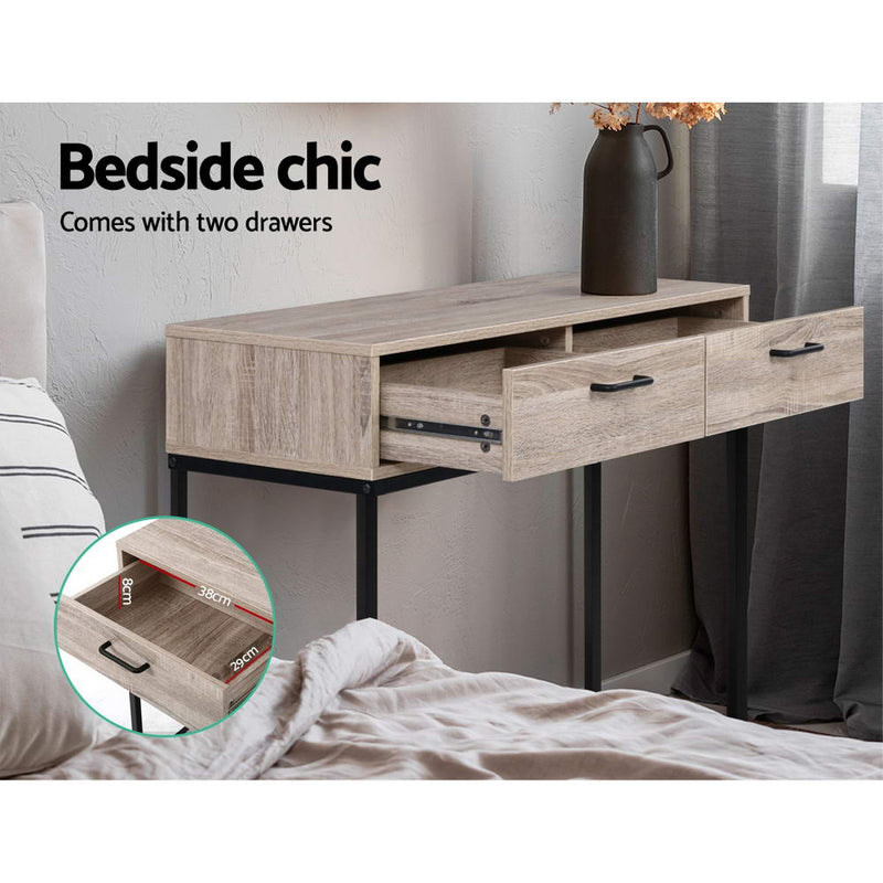 90cm Hallway Console Table-2 Drawers-FREE SHIPPING