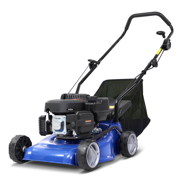 "139CC Lawn Mower 17"" Petrol Powered Hand Push Engine Lawnmower with Catcher-4Stroke-FREE SHIPPING"
